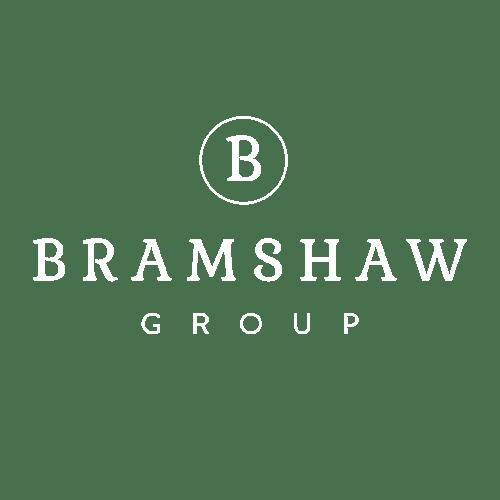 Bramshaw Group white logo